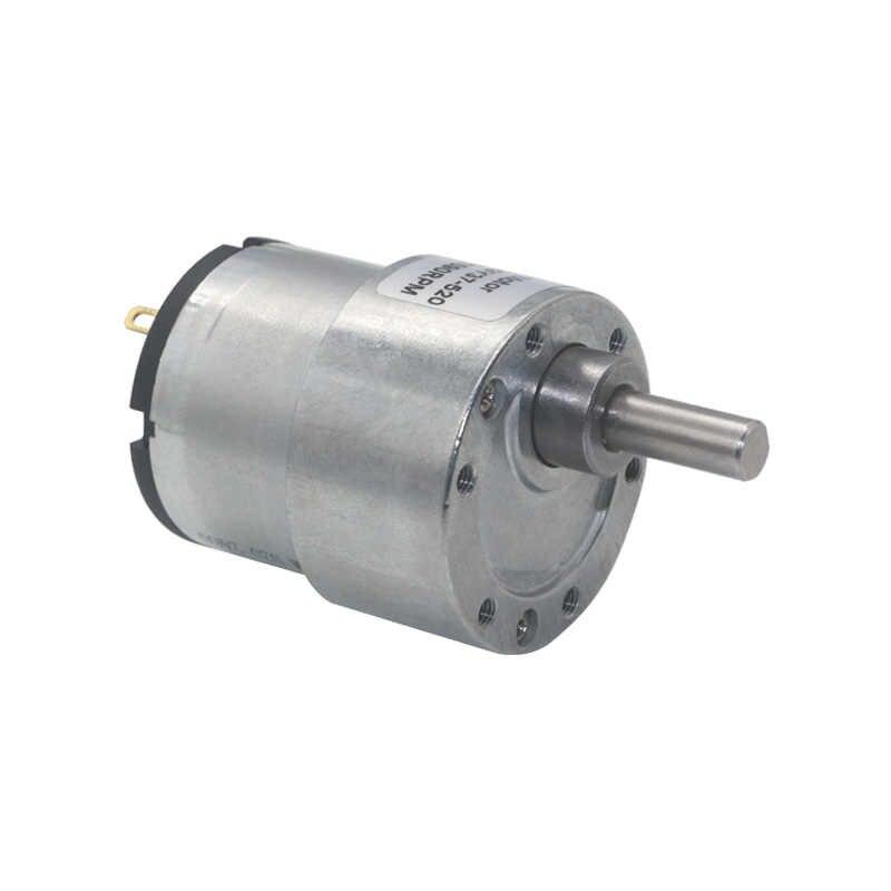 Durchmesser 37mm 12V DC 1450RPM Getriebedrehzahlregelung Elektromotor