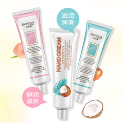 BIOAQUA Peach Hand Cream Fruits Moisturizing Anti Chapping Hands Lotion Nourishing Anti Frosting Drying Hand Care