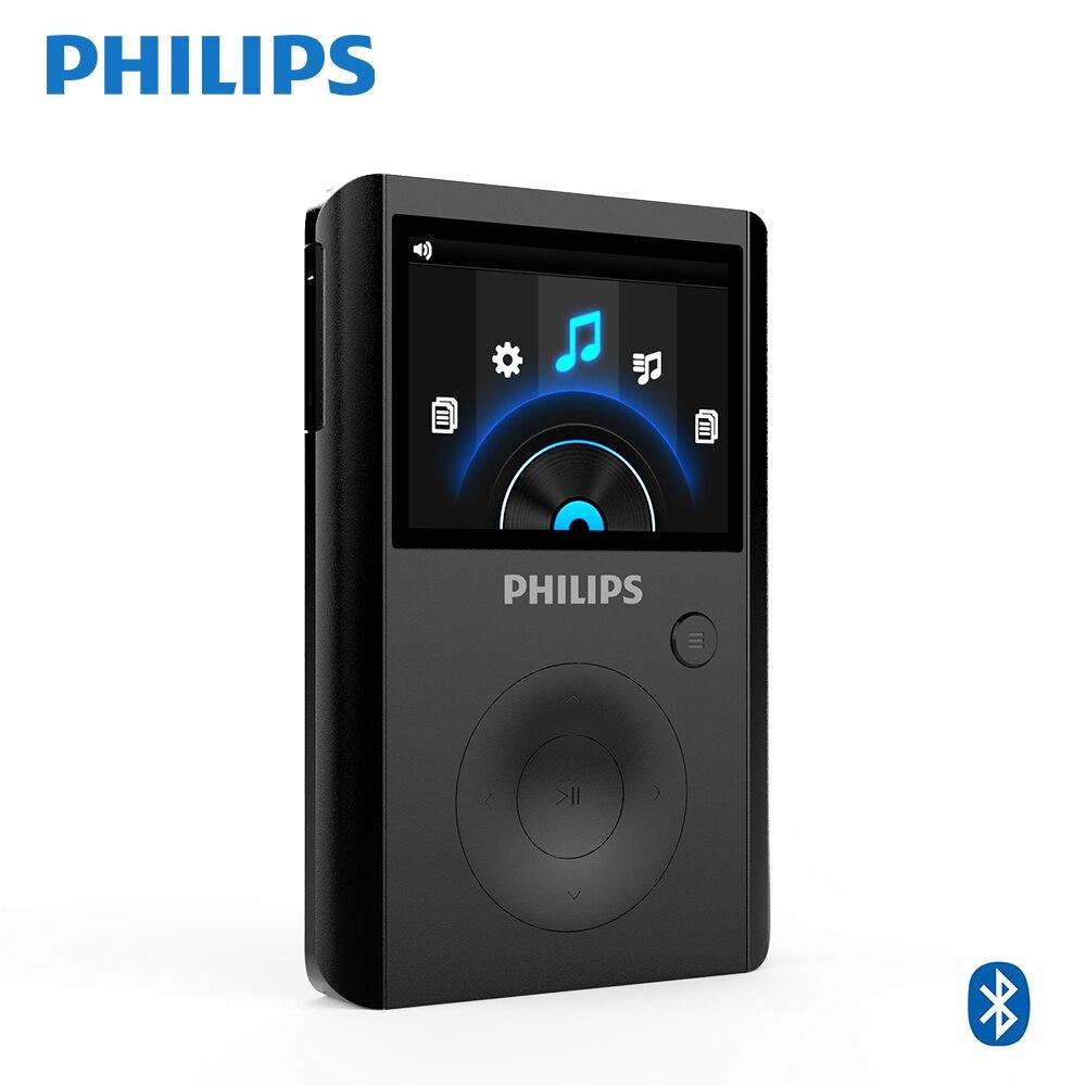 PHILIPS SA8232 Спорт MP3 плеера bluetooth-рекордер Supprot 256 ГБ TF карты клип плеер ГБ 32