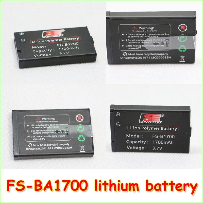 1 adet FS-BA1700 sarj edilebilir lityum pil fabrikasi 3.7 V i10 orijinal pil GT2B GT3C iT4 iT4S