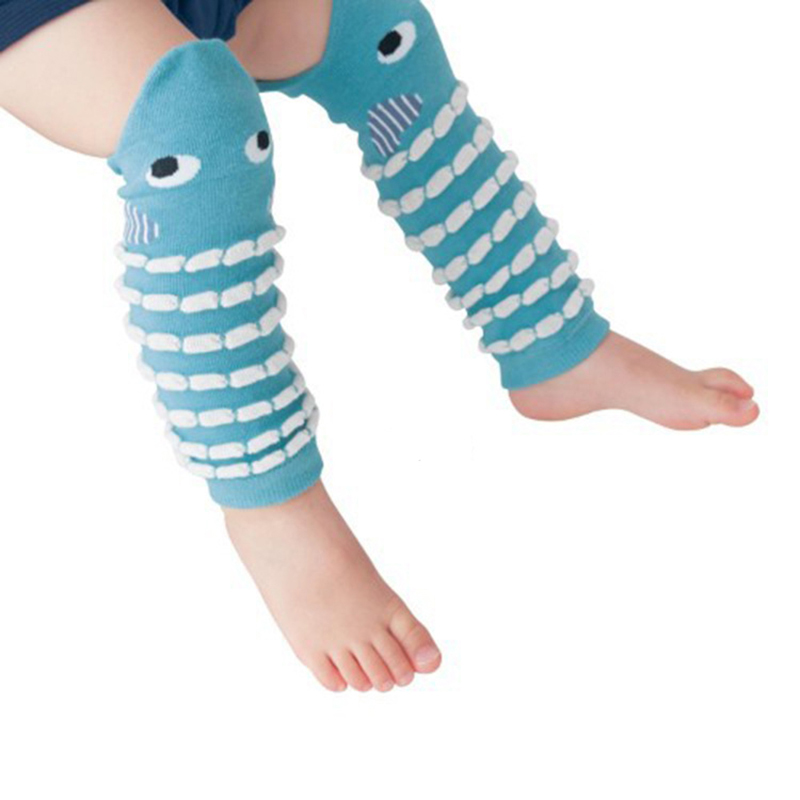 Cartoon Kids Leg Warmers Cotton Children Socks Boy Girl Knee Protection Sock Warm Infant Socks Autumn Winter Toddler Leg Warmers