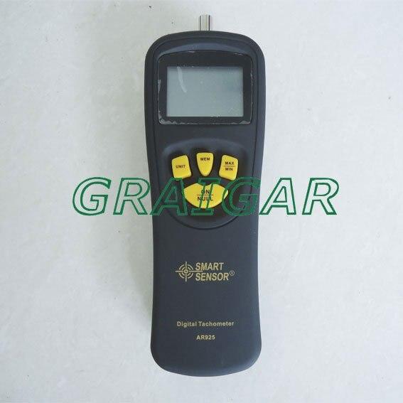 Capteur intelligent AR925 0.5 ~ 19999 tr/min Contact tachymètre numérique