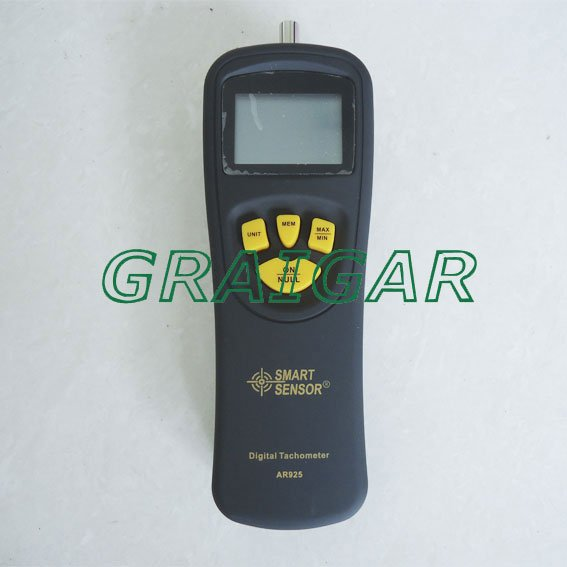 Free Shipping Smart Sensor AR925 0.5~19999RPM Contact Digital Tachometer