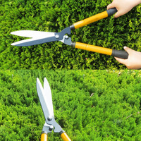 Cisailles À Haies professionnels Tondeuses Télescopique Extensible Poignée pour Couper L'efficacité de Mise En Forme Haies Arbustes D'ornement