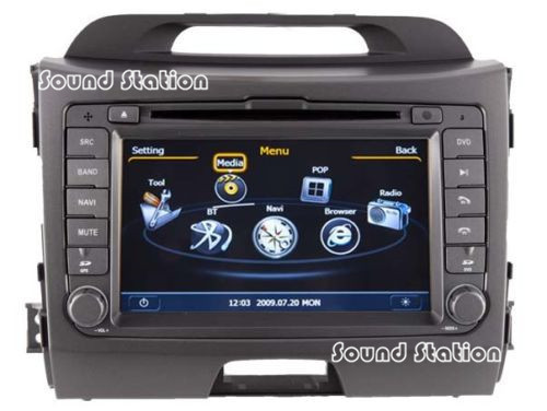 Sportage R Dvd Gps Radio Navigation Multimedia For Kia Sportage R