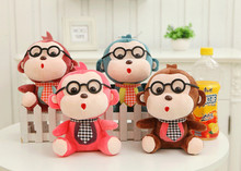 New PP Cotton Monkey Doll Monkey Plush Toy Baby Toy Free Shipping