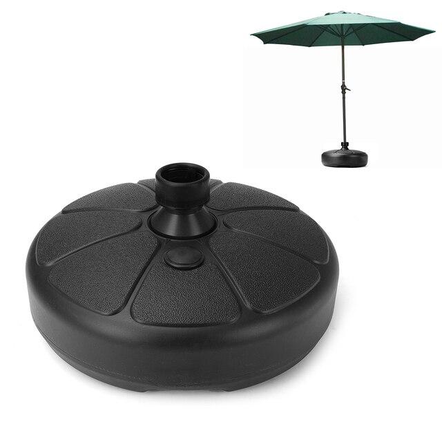 Portable Durable Outdoor Parasol Garden Umbrella Base Stand Round Patio  Beach Garden Patio Umbrella Holder Sun - Portable Durable Outdoor Parasol Garden Umbrella Base Stand Round