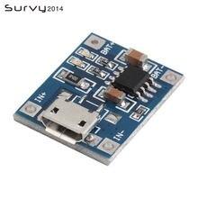 5 шт micro usb в 1a 18650 tp4056 модуль зарядного устройства