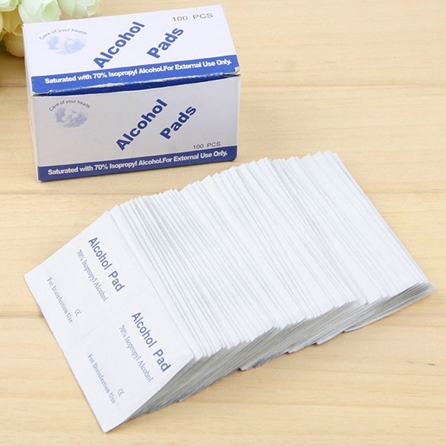 36 PCS Antiphlogosis Isopropyl Alcohol Swab Pads Piece Wipe Antiseptic Skin Cleaning Care First Aid