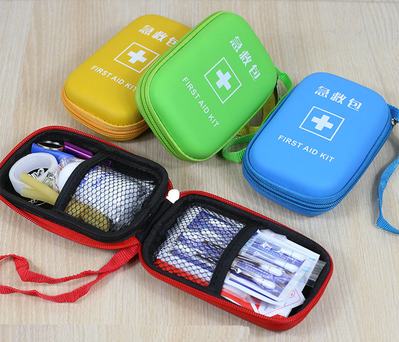 5 Color Waterproof Outdoor Family Portable Small First Aid Kit Suit Family Car Travel Camping Medical Kit Emergency Medical Kit