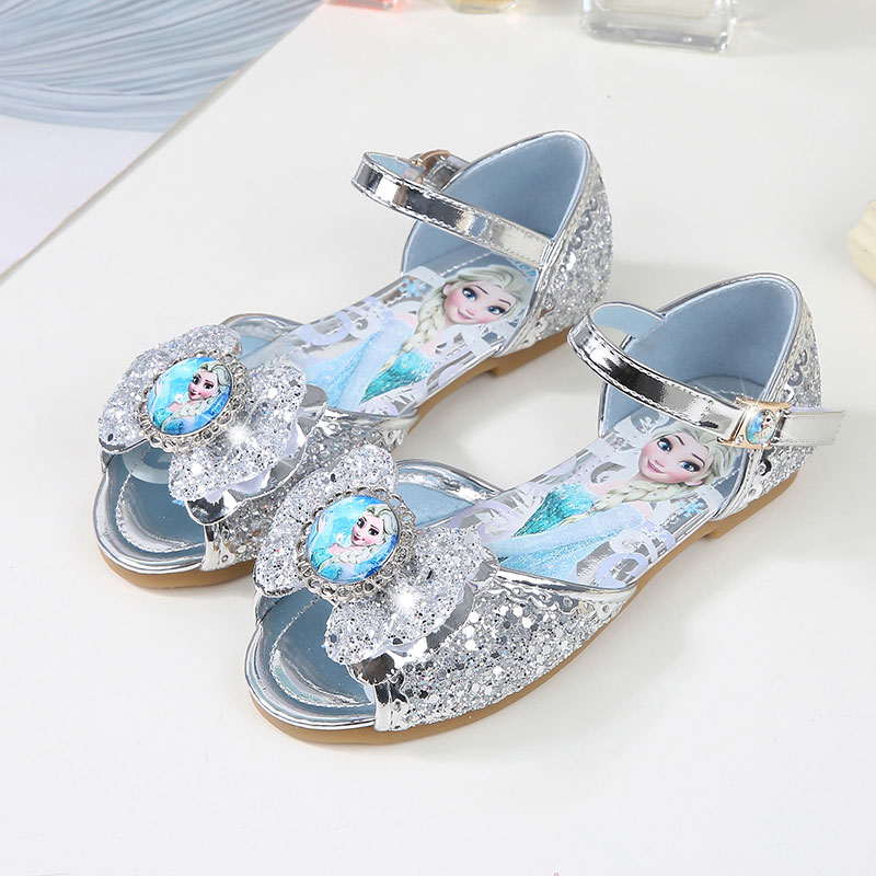 Children Girls Sandals,Baby Else Flat Summer Shoes For Girls,KIDS Dancing And Party Shoe Rhinestone Bow Else Shoes