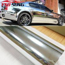 7 Sizes High stretchable mirror silver Chrome Mirror flexible Vinyl Wrap Sheet Roll Film Car Sticker Decal Sheet