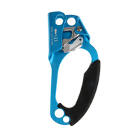 1 Pcs 4KN Hand Ascender Rock Climbing Tree Arborist Rappelling Gear Equipment Rope Clamp for Mountaineering Caving 8 12mm Rope