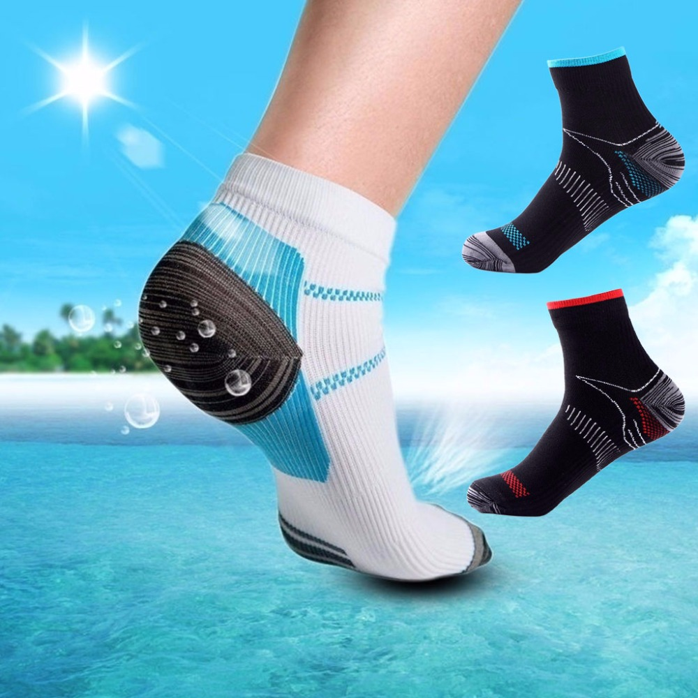 Men Funny Socks High Quality Compression Leisure Ankle Socks Man Casual Nylon Cotton High Elastic Gym Athletic Breathable Socks