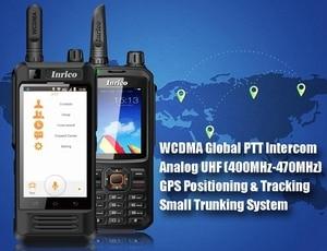 """Image 2 - Оригинальный Inrico T298S SIM 3G WCDMA иди и болтай Walkie Talkie """"иди и мобильный телефон 4000 мАч аккумулятор с сенсорным Экран сети общего пользования радио Android"""