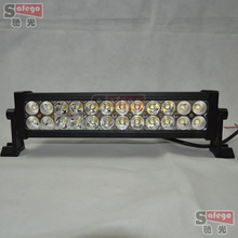 72W  LED Light Bar with Flood Spot Beam for 4WD 4×4 Offroad worklight Jeep Truck worklamp Car Mining Boat 72W LED Work Light