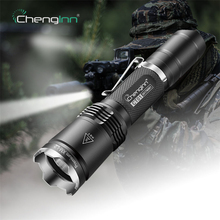 Chenglnn CT01 Self defense 7 Modes LED Tactical 18650 Battery lanterna olight flash lights flashlights torches scuba underwater