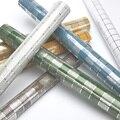 Moderne Badezimmer Wasserdicht Mosaik Vinyl PVC Selbst adhesive Anti Öl Küche Tapete Wärme Widerstand DIY Home Decor Wand Aufkleber