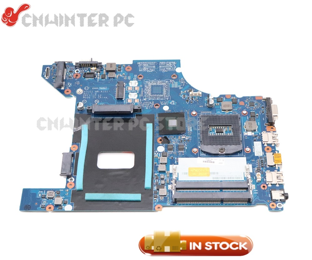 NOKOTION ATLE1 NM-A151 04X4790 PC Motherboard For Lenovo Thinkpad Edge E440 MAIN BOARD HM87 GMA HD4400 DDR3L