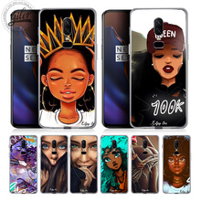 Coque For Oneplus 6T Case Cover Melanin Poppin Fashion girls for Case Oneplus 6 5 5T Funda for One Plus 6 5 5T 6T 1+6 Phone Capa цена