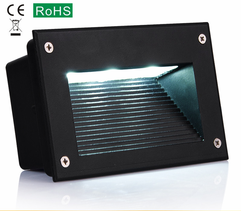 где купить  The new full aluminium Led buried light 3 w embedded the light footfall park night light  по лучшей цене