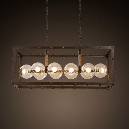 Amercian Loft Style Creative Ball LED Pendant Light Fixtures For Living Dining Room Iron Rope Hanging Lamp Glass DropLight loft style iron vintage pendant light fixtures edison industrial lamp dining room bar diy hanging droplight indoor lighting