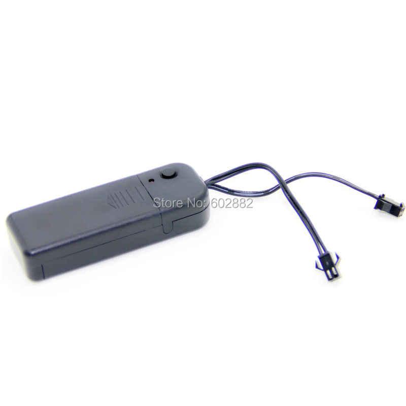 3 v AA tragbare inverter, controller mit zwei ausgänge für el draht, el band und el panel