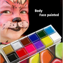 US $2.79 |festival World Cup body painting play clown Halloween makeup face paint  12 Color Body face painted Make up Flash Tattoo brush-in Body Paint from Beauty & Health on Aliexpress.com | Alibaba Group
