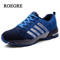 2018 High Quality Men Casual Shoes Spring autumn Unisex Light Weige Breathable Fashion sneakers Plus size Male shoes 35 47
