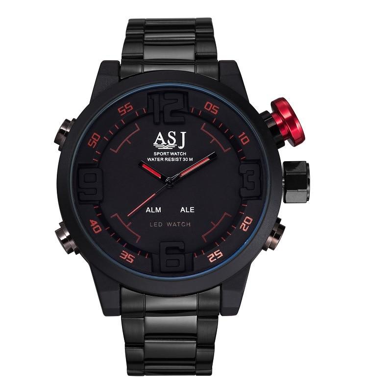 ФОТО relojes Brand Sport Wrist Watch Men's Military Waterproof Watches Fashion Silicone LED Digital Watch Men Wristwatches Clock Male