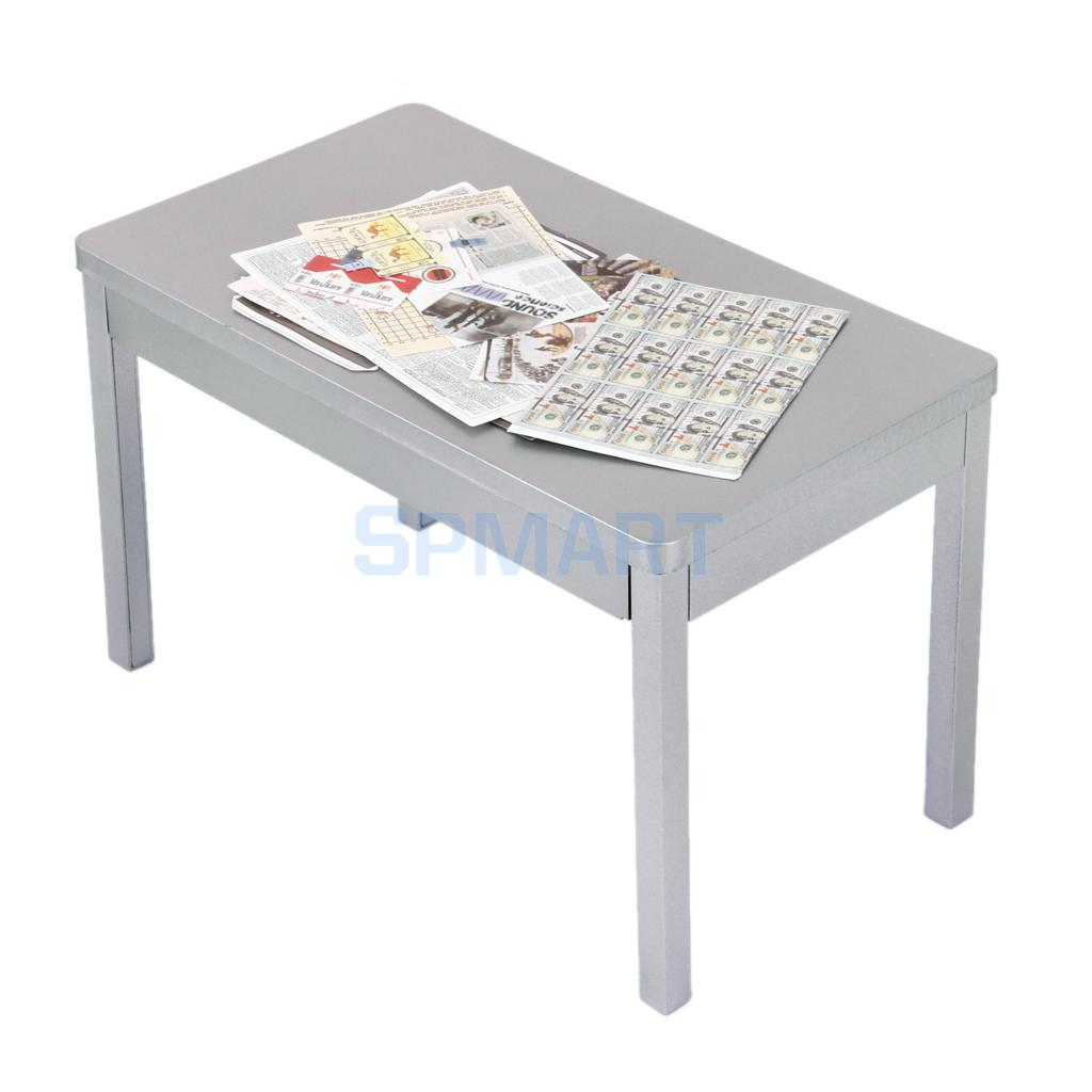 "1/6 Silver Table for 12"" Soldiers Action Figure-in Furniture Toys from Toys & Hobbies on Aliexpress.com 