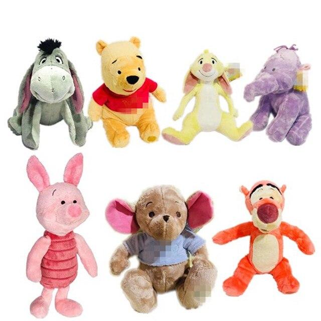 1 unids/lote 30 cm-40 cm peluche conejo edición tigger eeyore roo Calm doll juguetes para niños artículos de decoración regalo de los niños