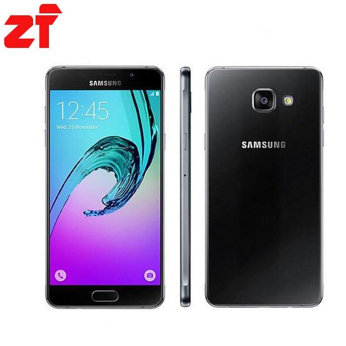 bilder für 2016 Original Samsung Galaxy A5 A5100 Handy 2 GB RAM 16 GB ROM 5,2 zoll Dual SIM 4G LTE Octa-core 13MP Kamera Android OS5.1