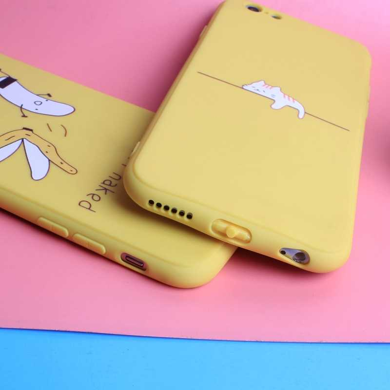 فاخر سيليكون حقيبة لهاتف أي فون 6 S غطاء فوندا غطاء لينة آيفون 7 8 Plus 7plus 8plus X XS 6 6 S 5 5s SE حافظة هاتف Capinha