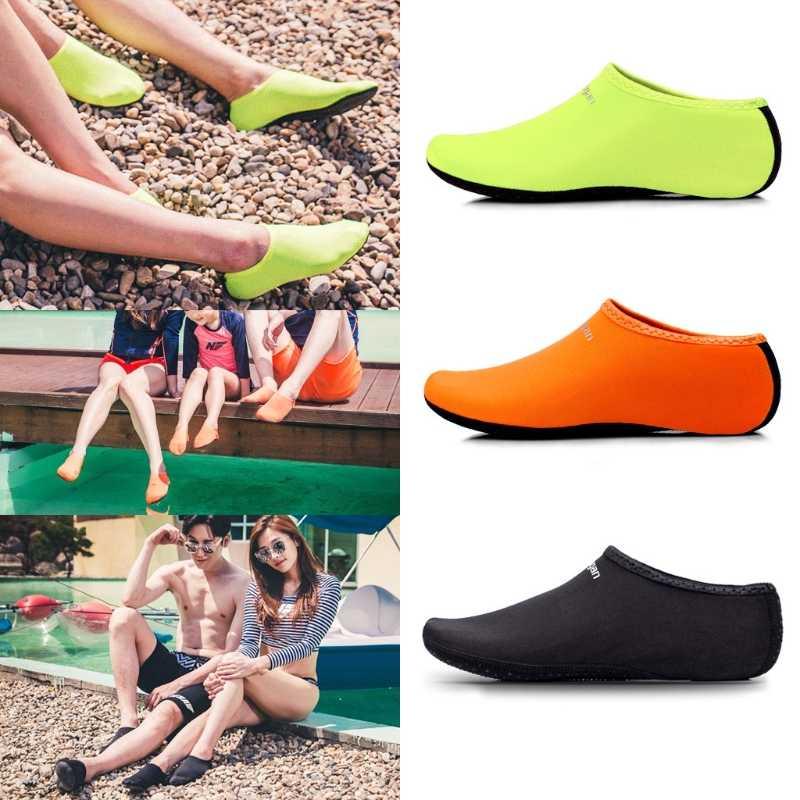 Erkekler Kadınlar Dalış Donatılmış Dalış Ayakkabıları Yüzme Plaj Çorap Sahil Spor