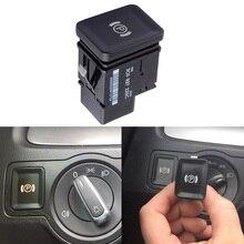 SPEEDWOW Car Electronic Handbrake Parking Switch Brake Button EPB For VW PASSAT B6 C6 3C2 3C5  3C0927225