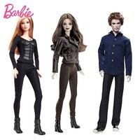 Original Barbie Doll Collector The Twlight Saga Bella Jasper Hunger Games Tris Christmas Birthday Gifts Genuine Barbie Dolls