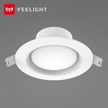 Yeelight LED النازل 5 واط 220 فولت صغيرة مستديرة جزءا لا يتجزأ من السقف مصباح دافئ أبيض/أصفر المنزل الذكي عدة