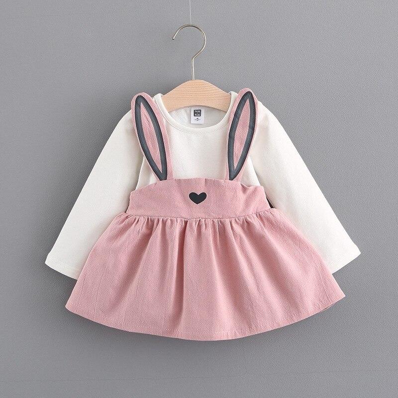 Vestido de bebê meninas 0-3 anos de idade 2018 nova moda outono estilo crianças roupas algodão a041 infantil meninas vestidos