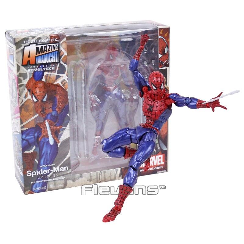 16cm Spider-Man CARNAGE Action Figure Yamaguchi Katsuhisa Revoltech Kaiyodo Toy