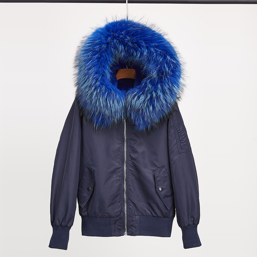 Fashion real rex rabbit fur full Liner winter jacket women parka coat raccoon fur collar hooded parkas thick short outerwear real fox fur liner winter jacket women new long parka real fur coat big raccoon fur collar hooded parkas thick outerwear