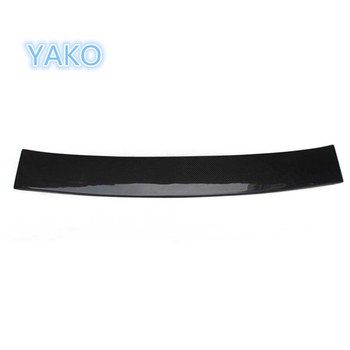 Carbon Fiber Car Styling Roof Spoiler Wing Lip For E CLASS W212 Roof Trunk Spoiler 2010-2015