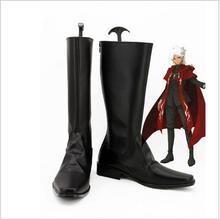Fate Apocrypha Shirou Kotomine cosplay shoes Anime boots