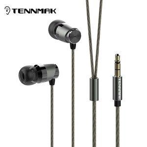 Image 1 - Металлические наушники вкладыши Tennmak Crazy для виолончели, высокое качество