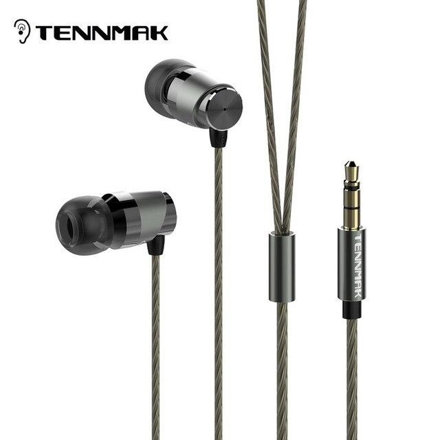 Металлические наушники вкладыши Tennmak Crazy для виолончели, высокое качество