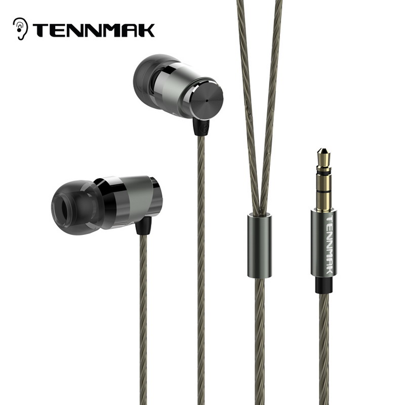 Prix pour Tennmak Fou Violoncelle Salut-Res Dans L'oreille Loseless Métal Écouteurs * Haute Qualité Ensurance