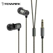 Tennmak fou violoncelle hi res dans loreille Loseless métal écouteur * haute qualité assurance