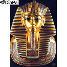 DIAPAI Diamond Painting 5D DIY 100% Full Square/Round Drill Egyptian Pharaoh Embroidery Cross Stitch 3D Decor A22022