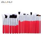 GUJHUI 25 pcs Professional Cosmetic Brush Set Foundation Powder Eyeshadow Blusher Multifunction Makeup Brush Tool Set