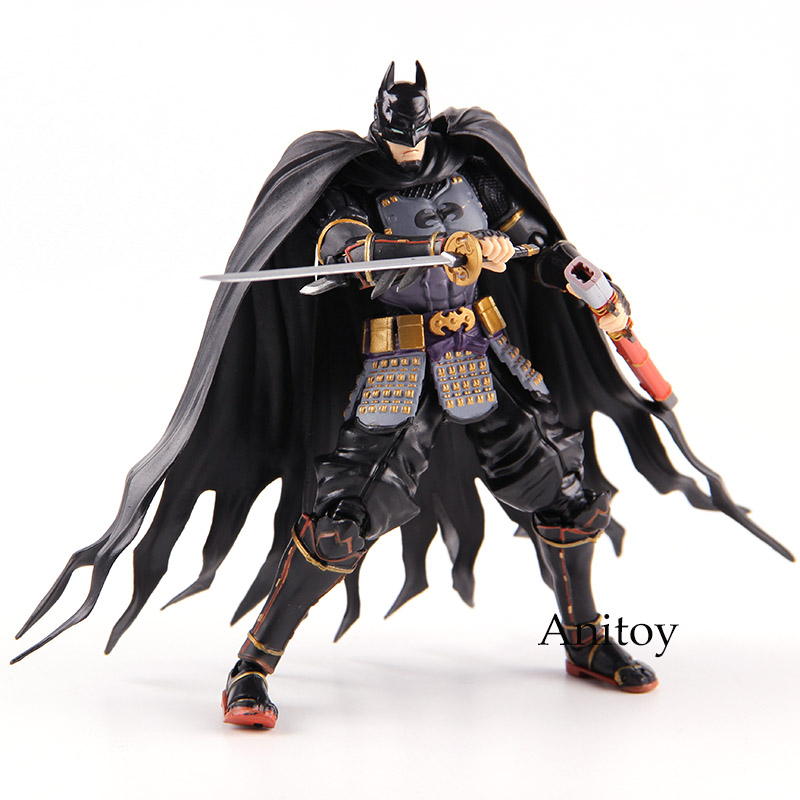 Figuarts SHF Ninja Batman Action Figures Toys PVC Collectible Model Toy shf s h figuarts sailor moon black lady pvc action figure collectible model toy